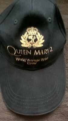 queen mary cunard crew baseball  cap