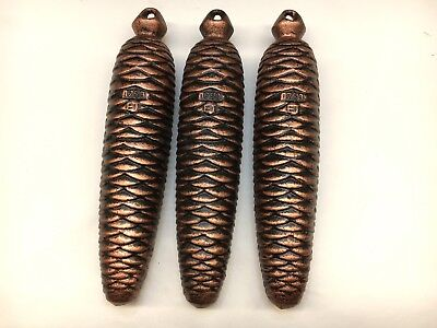 German Black Forest Cuckoo weights 1750 grams Set of 3