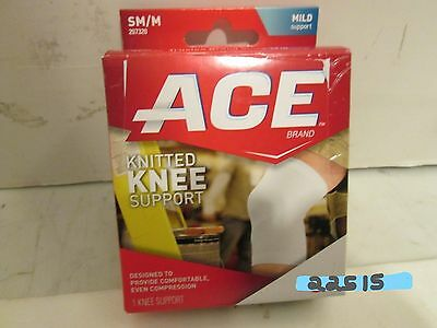 LOT OF 4 ACE Knitted Knee Support #207320 Mild Support S/Med Brace FREE SHIPPING