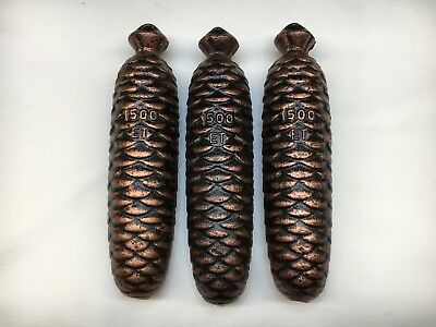 German Black Forest Cuckoo weights 1500 grams Set of 3