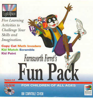 Farnworth Ferrets Fun Pack (Pc, 1995)