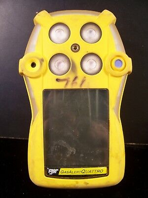 BW Gas Alert Quattro 4 Gas Detector A01 Version w/Rechargeable Battery