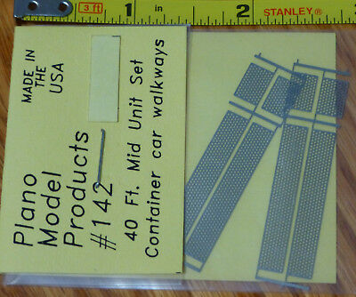 Plano #176 Drill Templates for std 40ft and APL 45ft walkway frames #161-165