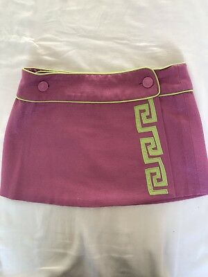 YOUNG VERSACE Pink Skirt For 10 Y Old Girl (size S Girl)