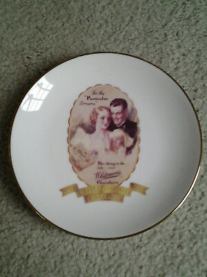 WHITMANS CHOCOLATES 150th ANNIVERSARY 1992 CANDY ADVERTISING COLLECTOR PLATE