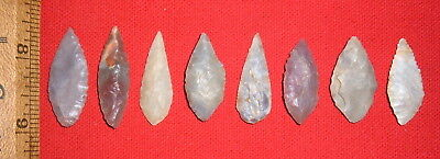 (8) Select Sahara Neo/Mesolithic Blades,  Prehistoric African Artifacts