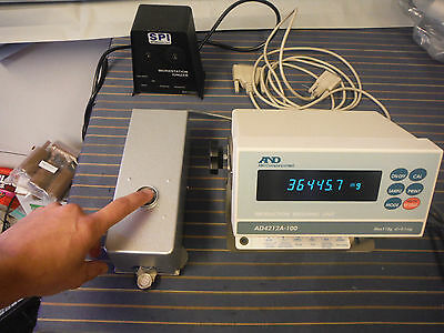 AND AD4212A-100 Laboratory Scale Precision Weigh MAX 110g ,D=0.1MG A&D