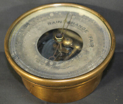 Antique Bronze John Bliss & Co. New York Compensated Barometer