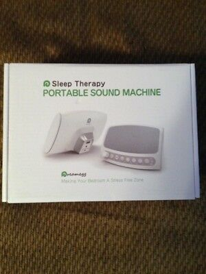 Portable White Noise Sound Machine Sleep Therapy Baby Night Relax Soothing Spa