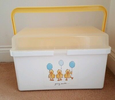 Plastic Baby Changing Toiletry Box - Mothercare