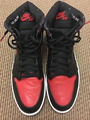 AIR JORDAN 1 Retro High Banned 2011 432001-001 Sz 15 -  729.99 ... 7ee7420077df