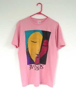 04395dc57175 SUPREME ABSTRACT TEE Shirt SS17 Pink Picasso Size Large - $78.00 ...