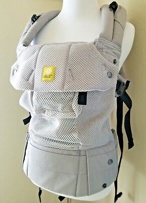 Lillebaby COMPLETE Airflow Baby Carrier in Grey/Silver