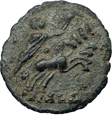 CONSTANTINE I the Great CHARIOT to GOD HAND in HEAVEN Ancient Roman Coin i68035