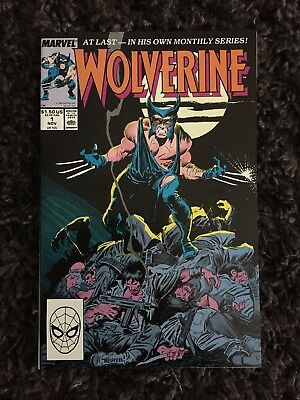Wolverine #1 Comic Book (Marvel,1988) Nm Condition