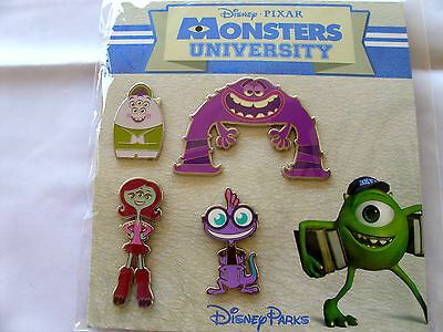 Disney * MONSTERS UNIVERSITY * 4 pin BOOSTER Set - New In Package
