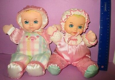 Playskool My Very Soft Baby Doll Toy Squeaker Snuzzles