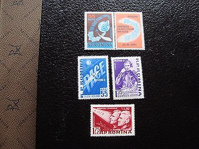 romania - stamp yvert and tellier air n° 146 a 149 n (C5) stamp romania