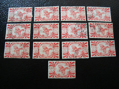 new caledonia stamp yt n° 237 x13 obl (A4) stamp new caledonia