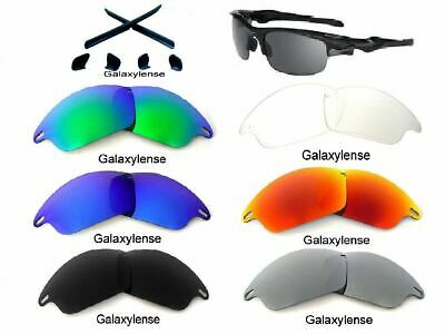 13949d1688 Galaxy Replacement Lenses For Oakley Fast Jacket Sunglasses Multi-Color