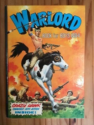 Warlord Annual 1984 in very good condition . Unclipped.