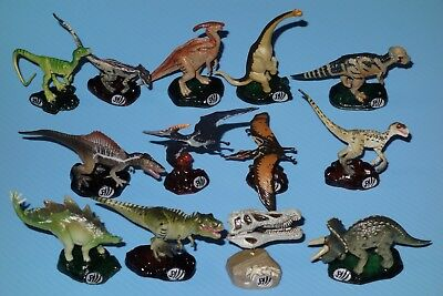 Jurassic Park 3 Action Figure Collection Complete Set of 12 +Skull Kaiyodo Japan