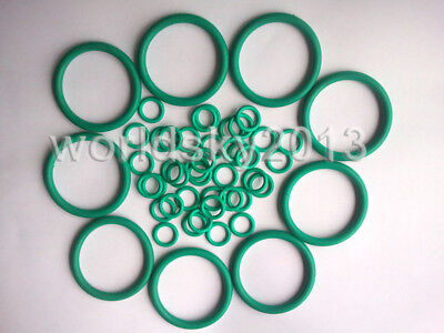 10pcs Heat Oil Resistant 1mm FKM Fluorine O-Ring Rubber Sealing Ring O.D 3-32mm