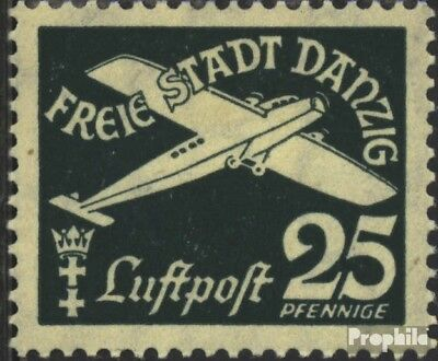 Gdansk 253 used 1935 Airmail