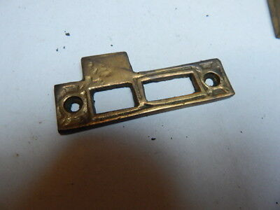 Cast Brass Strike Plate, BUYING ONE(SP19)