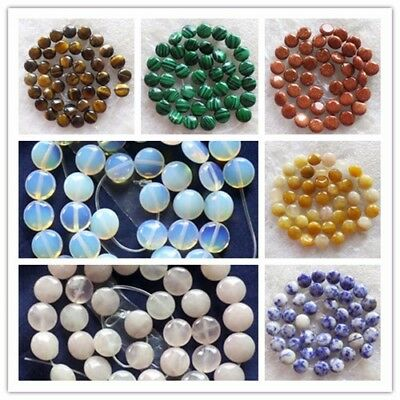 ZD016 Natural  Mixed stone Round 10x4mm Loose bead 15.5inch