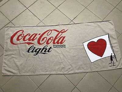 Coca Cola Light Strandtuch/Badetuch