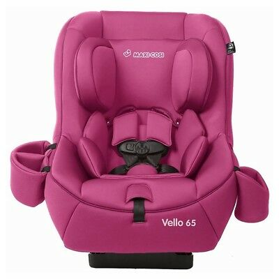Maxi-Cosi Vello 65 Baby Infant to Toddler Easy Clean Convertible Car Seat, Pink