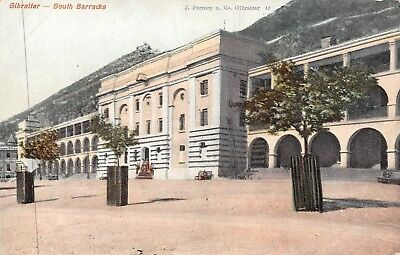 POSTCARD    GIBRALTAR    South  Barracks