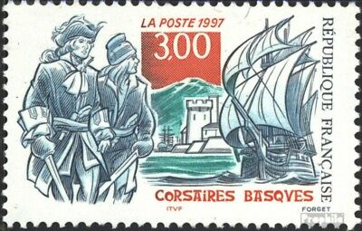 France 3231 (complete issue) unmounted mint / never hinged 1997 corsairs