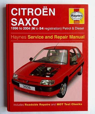 haynes car manual citroen saxo 96 04 1996 to 2004 petrol rh picclick co uk manual citroen saxo 1.5 diesel manual citroen saxo 1.5d