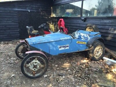 Cannon Trials Car Hill Climb for restoration with Triumph Spitfire engine