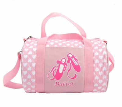 Quilted Carry-All Ballet Duffel Bag/Tote For Clothes Shoes and Accessories