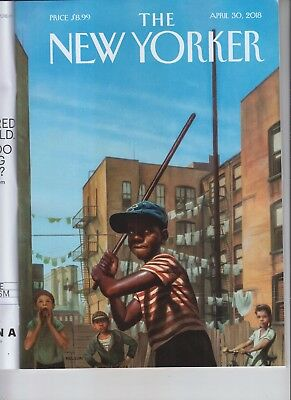 Stickball Alley The New Yorker Magazine April 30 2018 No Label Donald Trump Risk
