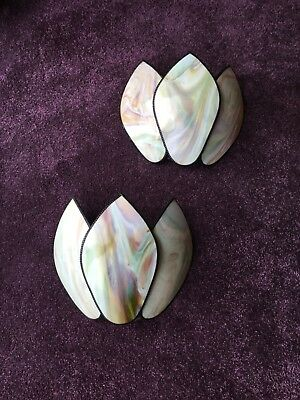 Original Set/Pair Of Art Deco Wall Lights