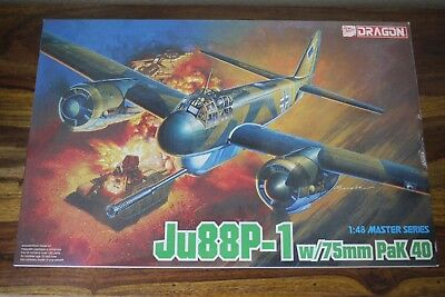 Dragon 5543 Ju88P-1 w/75mm PaK40  in 1:48 Master Serie