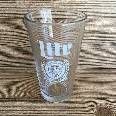 "Miller Lite Beer Glass 6"" Tall"