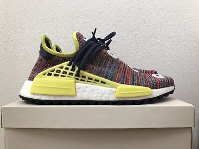 super popular 8dfbd 37e24 ADIDAS HUMAN RACE Pharrell Williams NMD Trail, Multi-color, Size 9