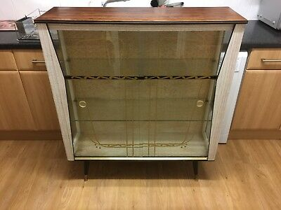Vintage 1950s China Cabinet