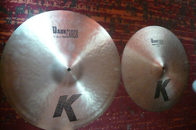 Zildjian K Dark Crash 17/19 im Doppelpack