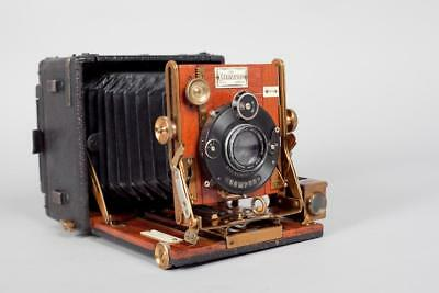 """Vintage ~ c1910 ~ """"The Sanderson"""" Hand and Stand Camera"""
