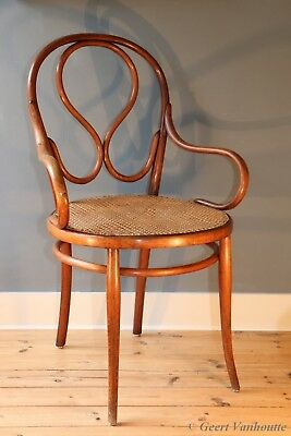 very early THONET Halbfauteuil Nr. 20 ca 1870