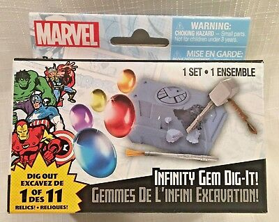 *BRAND NEW* Infinity Gem Dig-It! MARVEL Infinity Gauntlet Series MIB