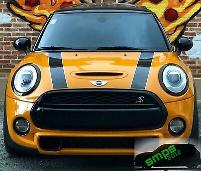 Mini F56 /55/57 front grille strip cover Black Gloss Cooper S JCW 2014 onwards
