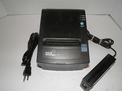 Touch Dynamic WTP-150 Thermal Point of Sale Receipt Printer w power supply Seria