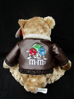 M & Ms Plush Bear  -  Never Played With